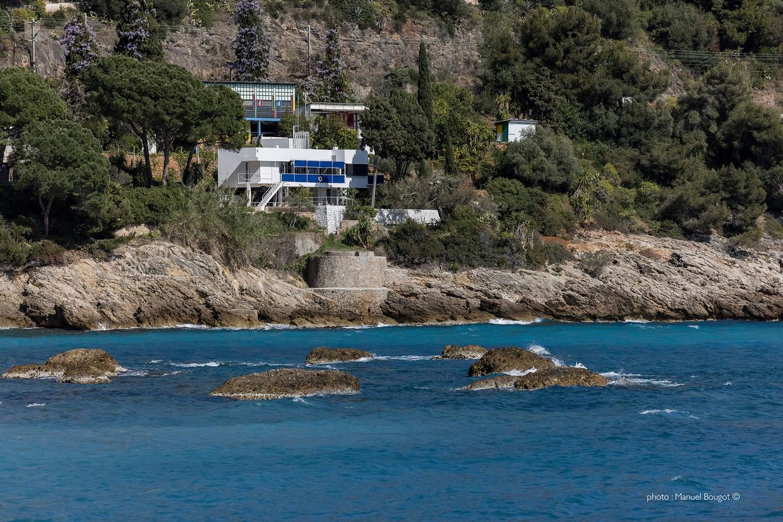 Villa E-1027 in Roquebrune-Cap-Martin. Beeld Manuel Bougot