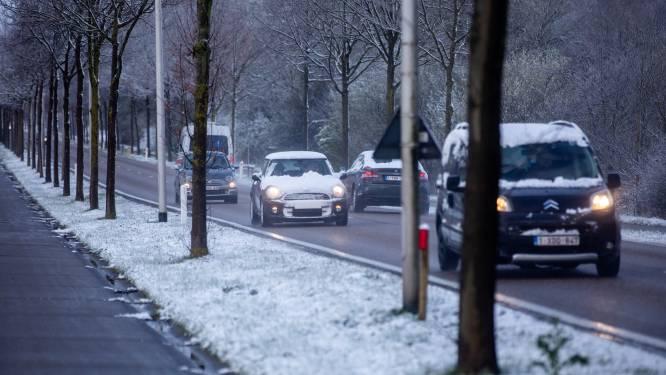 Opgelet voor gladde wegen: code geel in bijna alle provincies