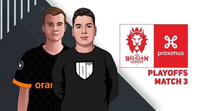 KIJK LIVE. Wie verovert het laatste ticket naar de finale van de Belgian League?
