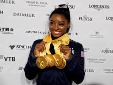 Topturnster Simone Biles gaat mogelijk toch door tot Spelen 2024