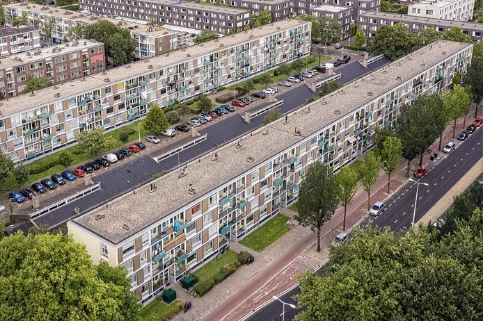 In de Haagse wijken Zichten, Gaarden en Dreven zullen woningen worden gesaneerd.