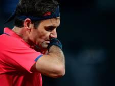 Federer overweegt zich terug te trekken na nachtpartij tegen Köpfer