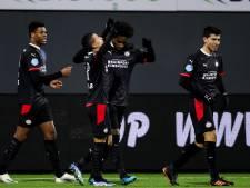 Drentse punten brengen PSV terug op plek twee, concurrenten krijgen pak op de broek