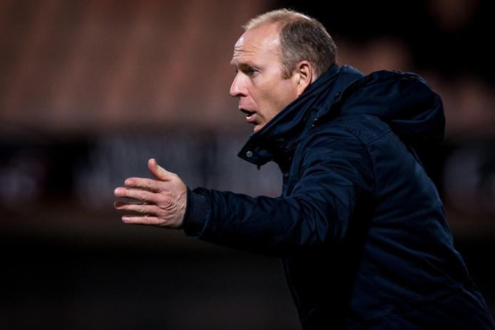 FC Volendam-trainer Robert Molenaar.