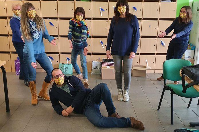 Het GO! Atheneum Denderleeuw gaat voor Happy Monday in plaats van Blue Monday.