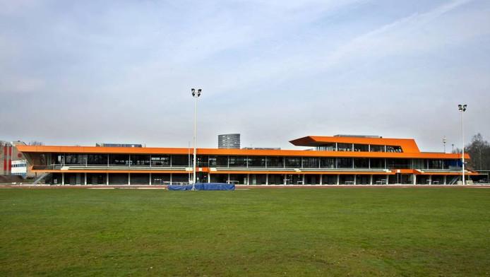 Het Eef Kamerbeek Atletiekcentrum in Eindhoven. archieffoto René Manders