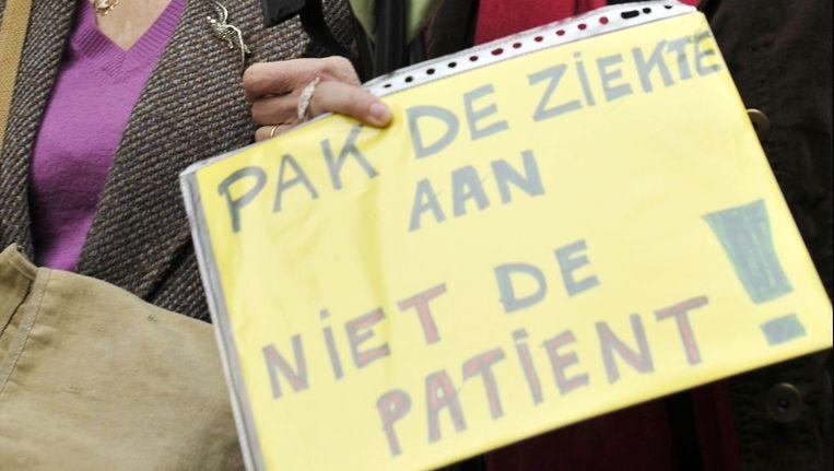 Archiefbeeld: nationale CVS-betoging voor een betere aanpak van de aandoening Beeld PHOTO_NEWS