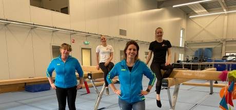Dé 'thuisevenwichtsbalk' van Lieke en Sanne Wevers staat nu in deze sporthal: 'Ontzettend gaaf'
