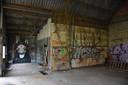 Minder getalenteerd, maar er is ook graffiti tegen nucleaire energie te vinden.