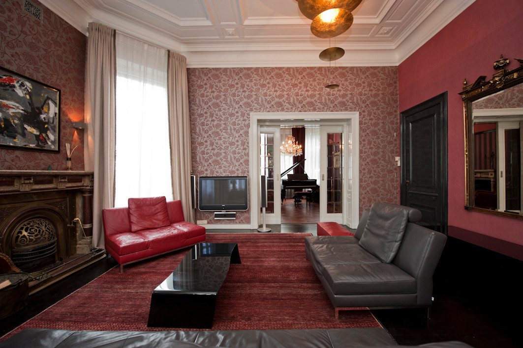Villa Anna van binnen, deze sfeer krijgt het hotel eveneens.