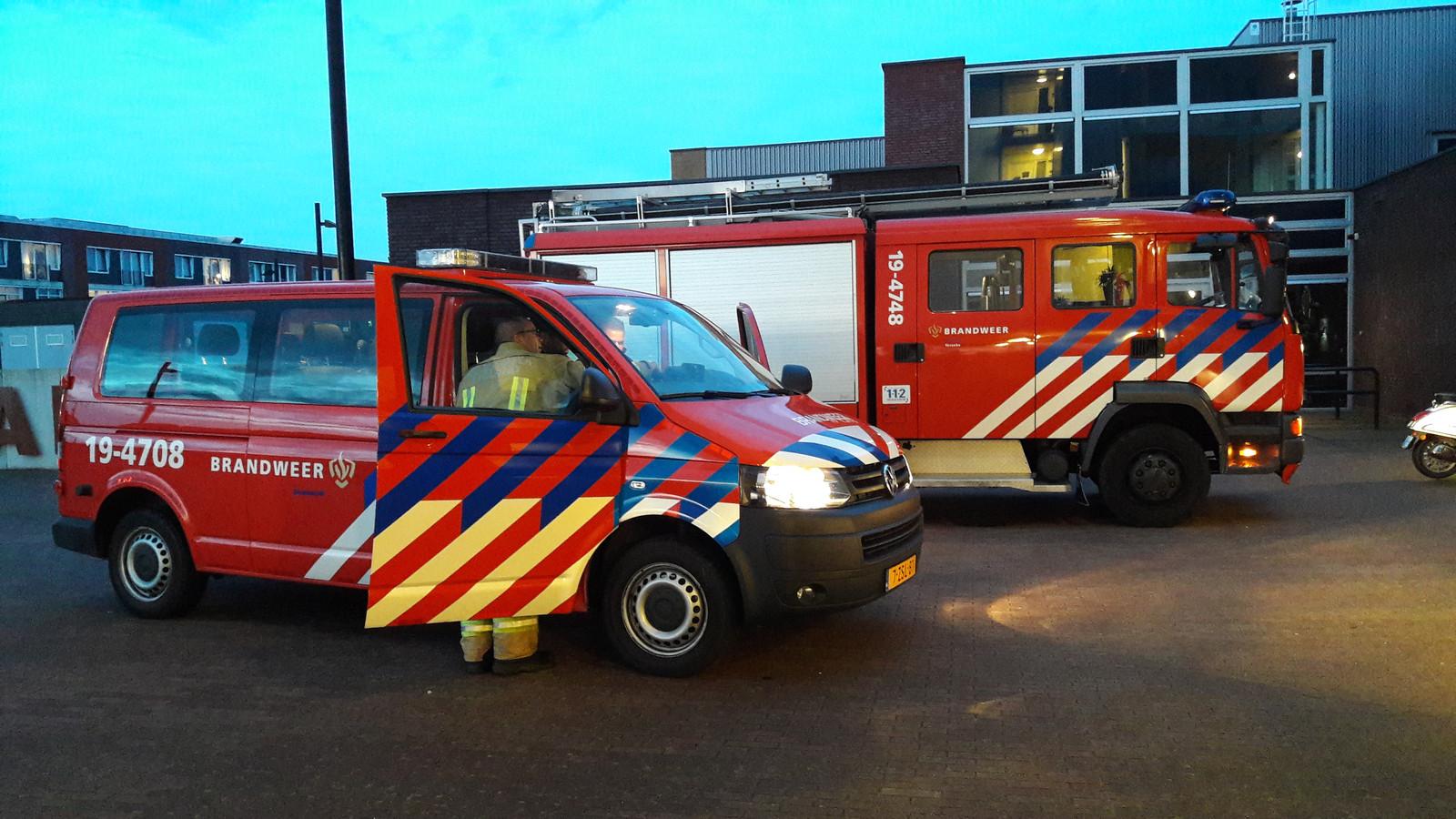 In Yerseke (foto) en Rilland kampt de brandweer met een tekort aan vrijwilligers.