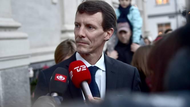 """Deense prins Joachim: """"Beroerte had fataal kunnen zijn"""""""