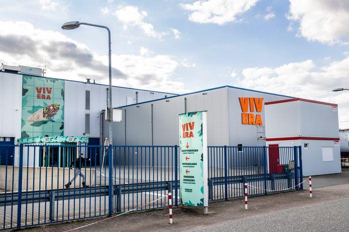 De fabriek van Vivera in Holten.
