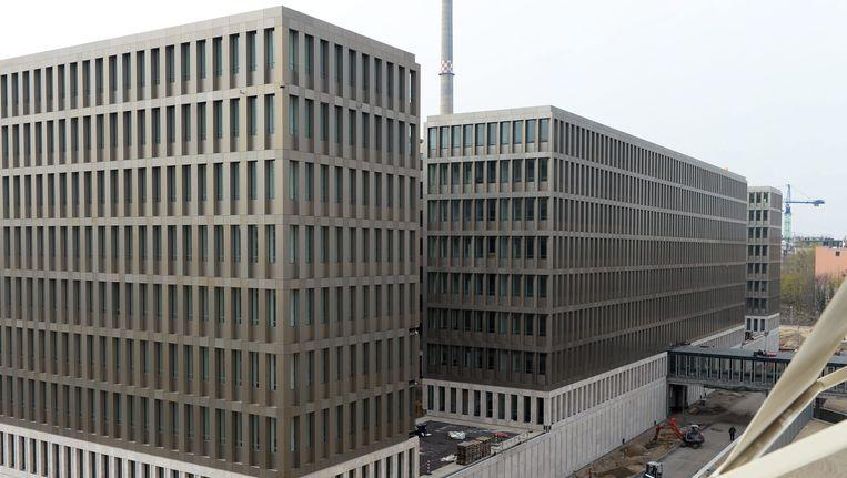Het hoofdkantoor van de Bundesnachrichtendienst (BND) in Berlijn. Beeld EPA