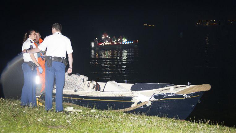 De politie deed na het incident onderzoek. Beeld ANP