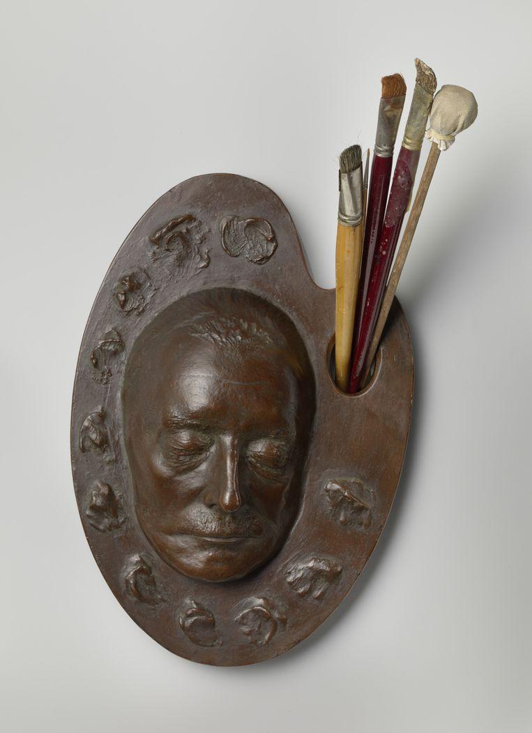 Het dodenmasker Beeld Rijksmuseum