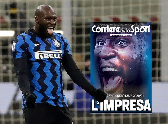 Lukaku siert de cover van Corriere dello Sport.