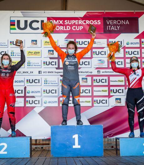 Zoelmondse Baauw wint eerste BMX-wereldbeker, jongste Smulders doet goede zaken in strijd om olympisch ticket