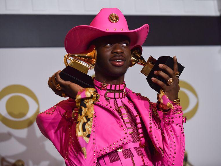 Lil Nas X won twee Grammy's.