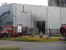 Brand in houtpalletsbedrijf in Moerdijk