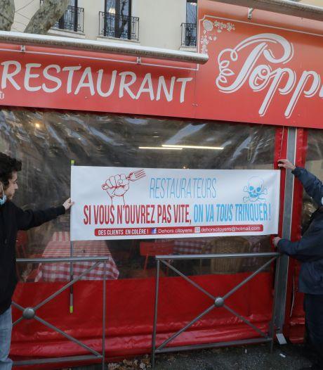 Les restaurants français qui restent ouverts seront privés du fonds de solidarité