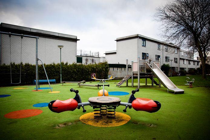 De speeltuin aan de Colorado in Dordrecht.