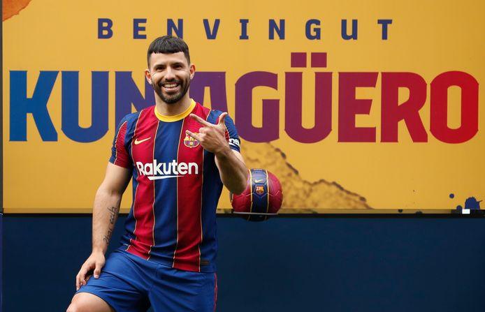 Sergio Agüero kan eindelijk zijn eerste minuten maken voor FC Barcelona.