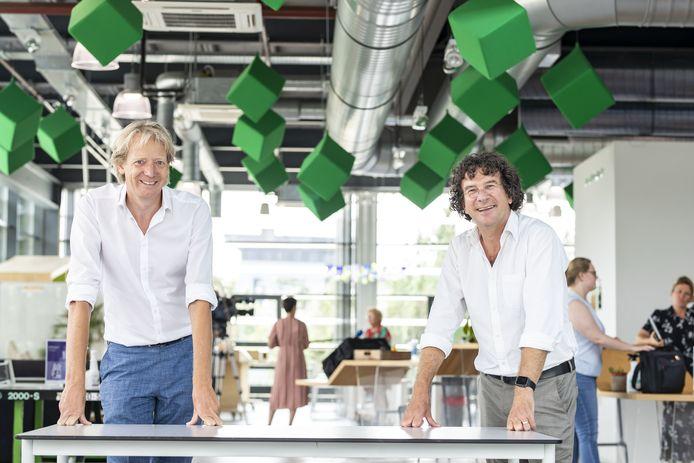 Daniel Tijink (links) en Peter-Paul Verbeek leidden de sessie van vrijdag.