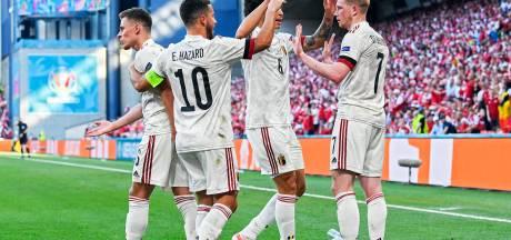 Les 11 chiffres clés de la victoire renversante des Diables contre le Danemark