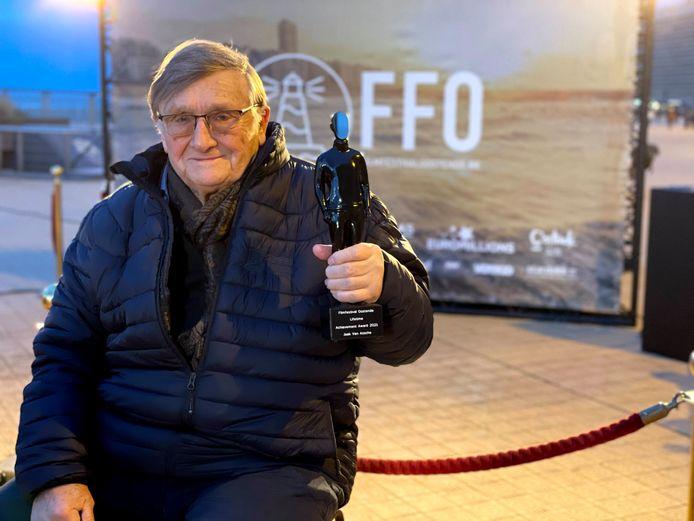 Jaak Van Assche met de Lifetime Achievement Award.