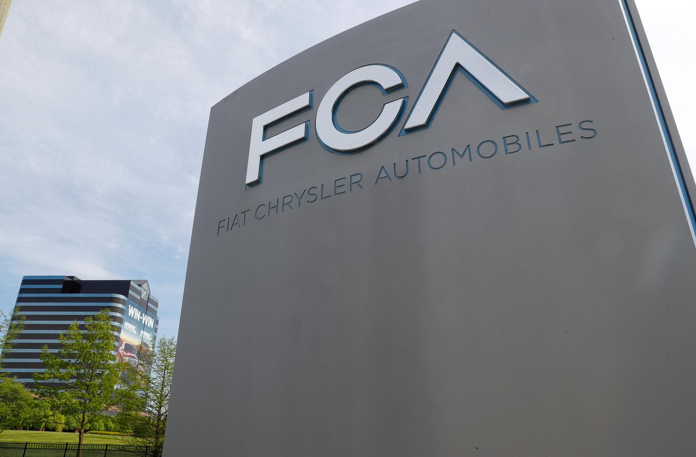 Het hoofdkantoor van Fiat Chrysler in Auburn Hills, Michigan.
