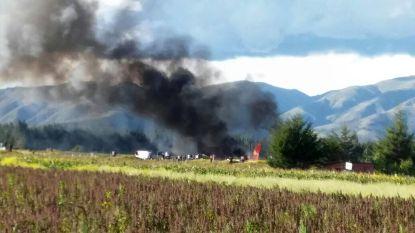 Vliegtuig in Peru gaat in vlammen op: 141 inzittenden op tijd gered