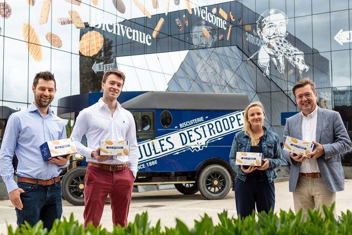 Biscuiterie Jules Destrooper gaat in zee met de start-up Crowdselling om verkoopacties door verenigingen te organiseren én te optimaliseren.