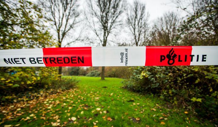 Foto ter illustratie, niet het veldje in Roermond.
