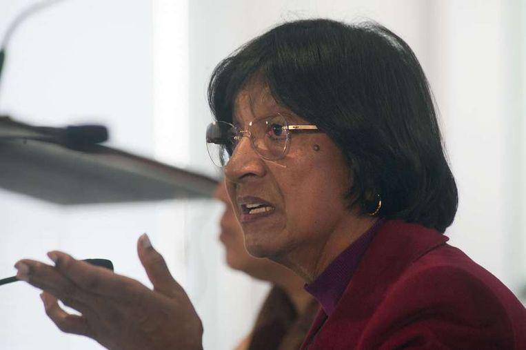 VN-commissaris Navi Pillay. Beeld AFP