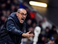 """Sarri pointe l'arbitrage: """"En Italie, on aurait eu deux penalties"""""""