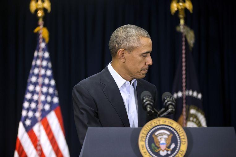 De Amerikaanse president Barack Obama is te voorzichtig geweest in zijn buitenlandse beleid, oordelen experts. Beeld AP