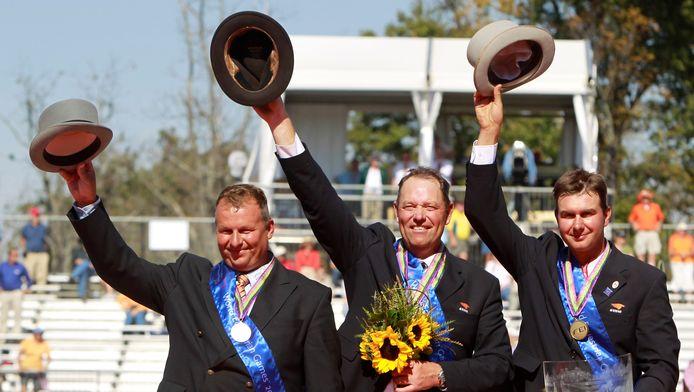 Archieffoto uit 2010, v.l.n.r.: Theo Timmerman, IJsbrand Chardon en Koos de Ronde.