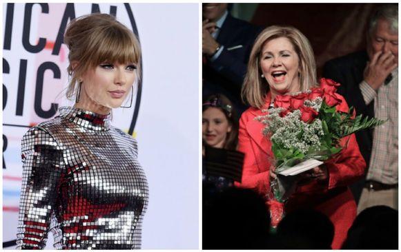 Taylor Swift kon niet voorkomen dat Marsha Blackburn de verkiezingen won.