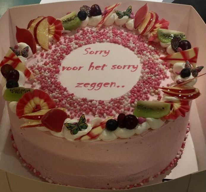Wat een heerlijke taart is dat!