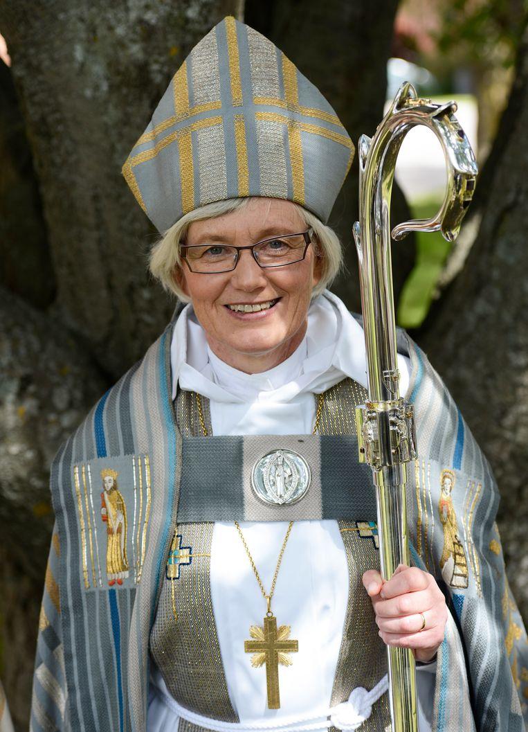Antje Jackelén is sinds 2014 de hoogste gezagsdrager van de Zweedse kerk. Beeld Magnus Aronson