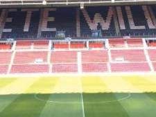 Het Philips Stadion is klaar voor een laatste eerbetoon aan Willy van der Kuijlen