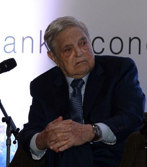 George Soros, de succesvolle Amerikaanse belegger van Hongaarse afkomst.