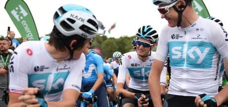 Laatste jaar Team Sky in het wielrennen