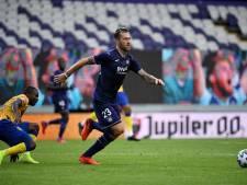 Trois joueurs et deux membres du staff d'Anderlecht testés positifs au Covid-19