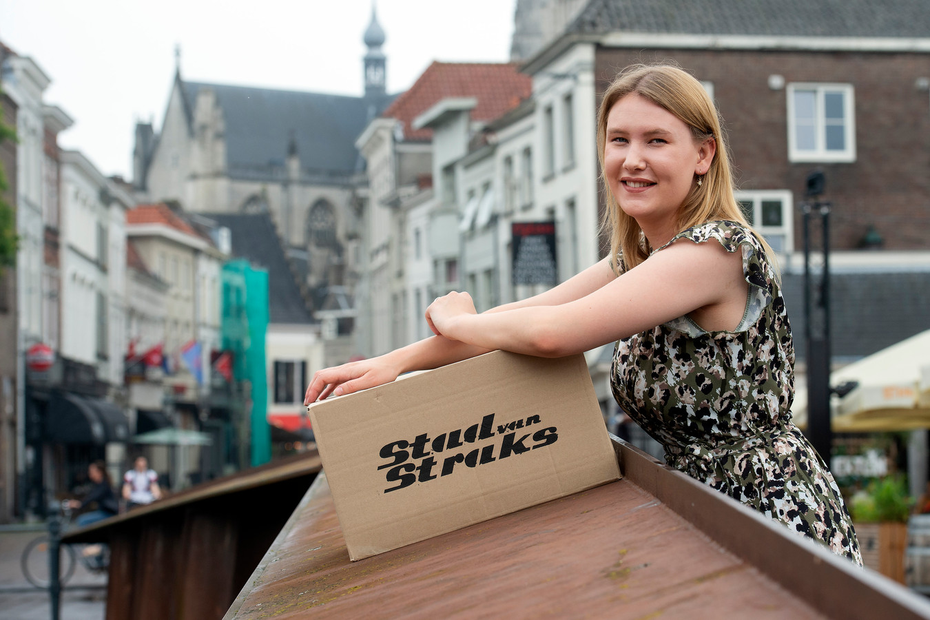 In een driedelige podcastserie spreekt communicatiestudente Imke Vaes met verschillende jonge inwoners van Breda.