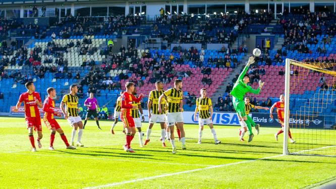 GA Eagles stunt door late strafschop Brouwers in Arnhem, gefrustreerd Vitesse terecht verslagen