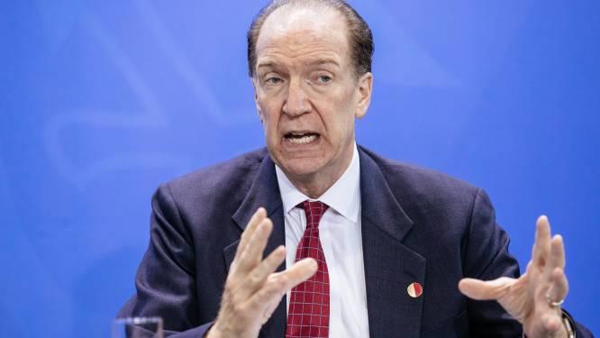 Wereldbank voorziet minder groei door brexit en handelsoorlog