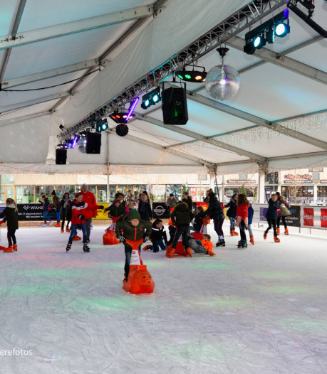 Discoschaatsen, curling en een santa run: Houten kiest weer voor winterse pret op Het Rond