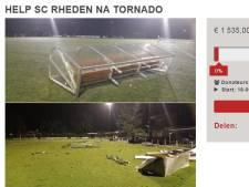 Voetbalclub Rheden start crowdfunding om tornadoschade te herstellen
